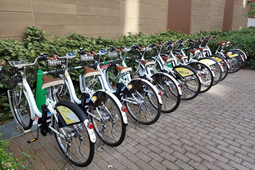 イーツ 自転車 レンタル ウーバー