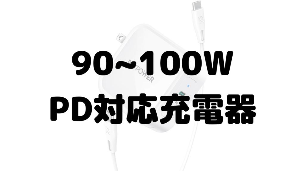 90~100WPD対応充電器